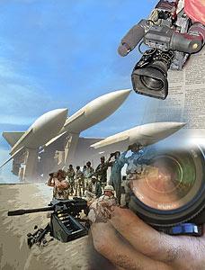 Los Medios de Comunicación y el negocio de la guerra