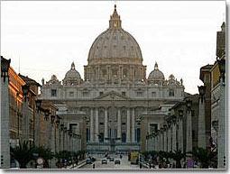 Dios, centro del debate.San Pedro-Roma