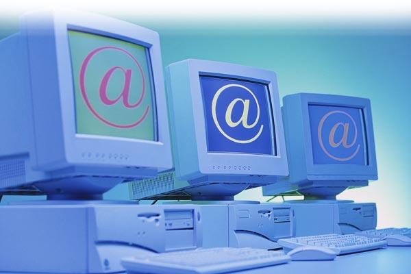 hilera ordenadores